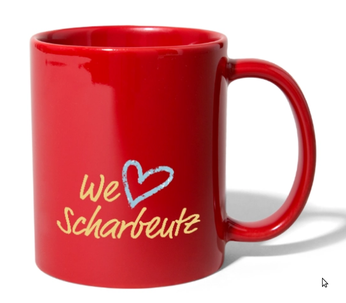 We love Scharbeutz - Tasse