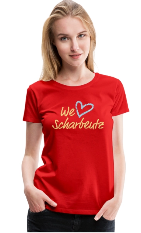 We love Scharbeutz - T-Shirt