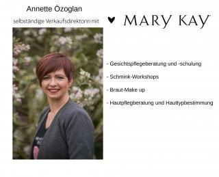 Annette Özoglan Hautpflegeberaterin/Visagistin mit  Mary Kay