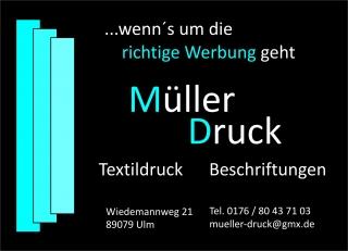 Müller Druck - Markus Müller