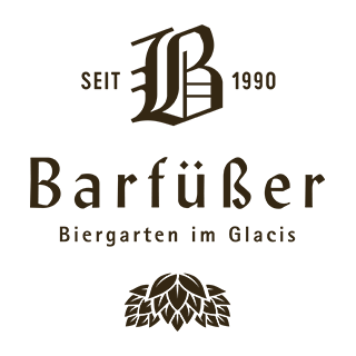 Barfüßer Biergarten im Glacis