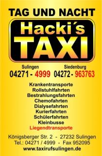 Hacki's Taxi-Ruf