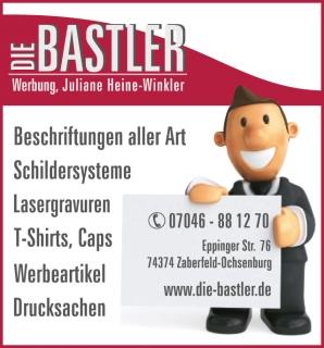 die Bastler, Werbung